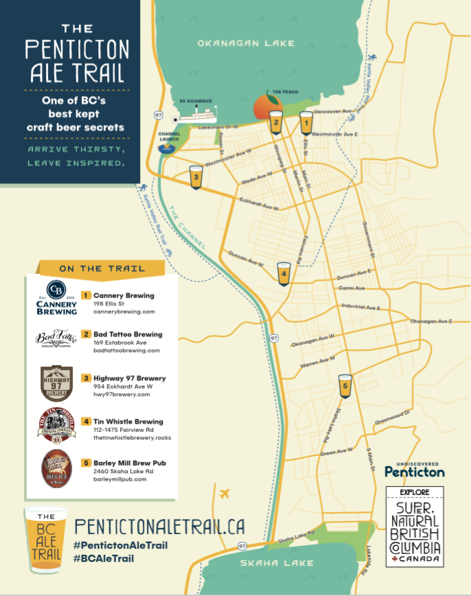 Penticton Ale Trail - South Okanagan Craft Beer